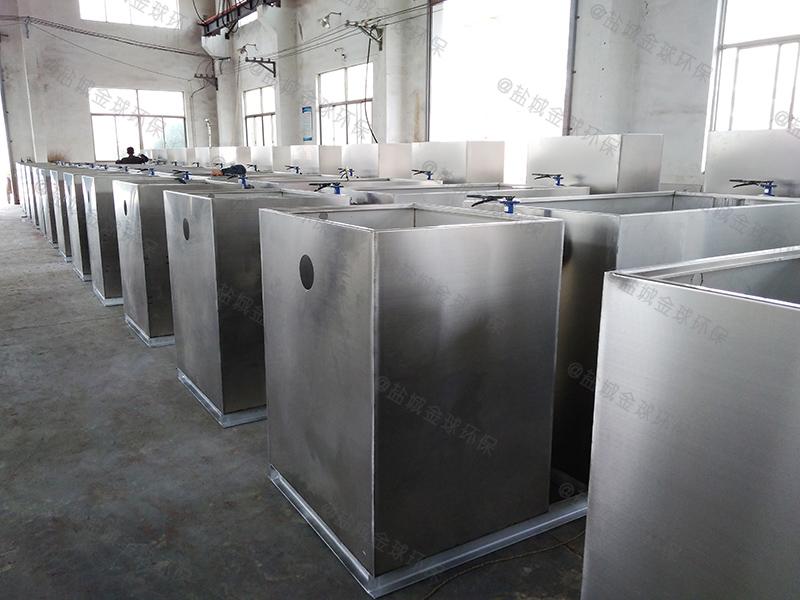 永川三级除渣除泥油脂分离器设计
