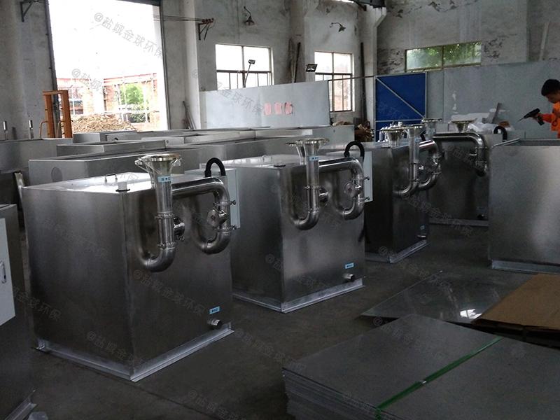 荣昌过滤油水分离设备的做法