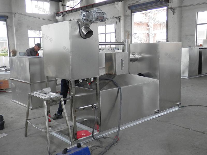 荣昌不锈钢一体化油脂分离机构造做法
