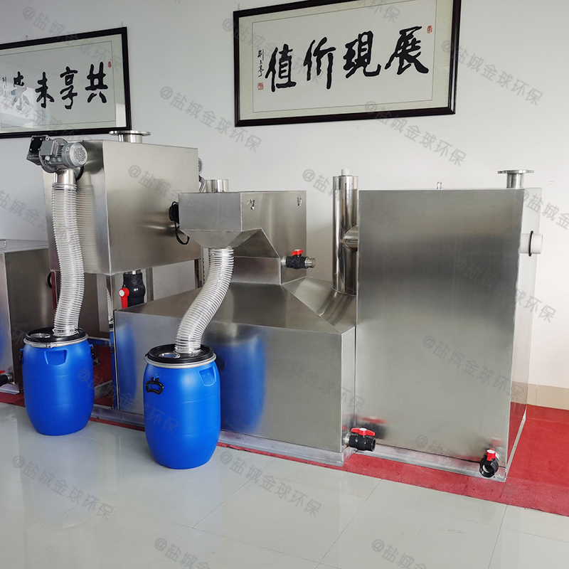 石柱污水排放隔油器原理图解