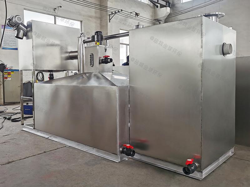 铜梁大型隔油隔渣设备解决方案