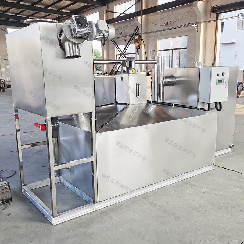 武隆四级过滤油水分离器做法与尺寸图