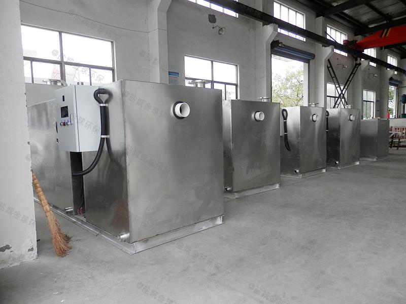 长寿新型一体化设备油污水分离器施工