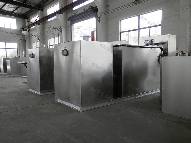 万州不锈钢一体化油水分离装置构造做法
