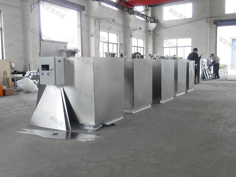 江津强排隔油隔渣设备设计图