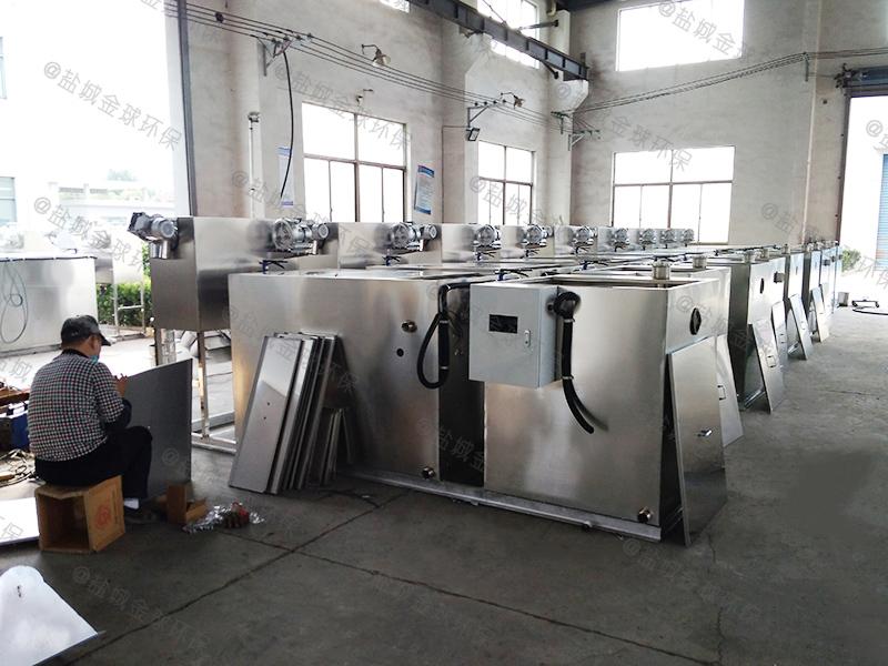 九龙坡分体式一体化隔油隔渣设备构造