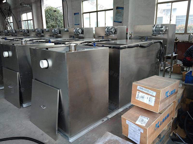 巫山手动式隔油隔渣设备的做法
