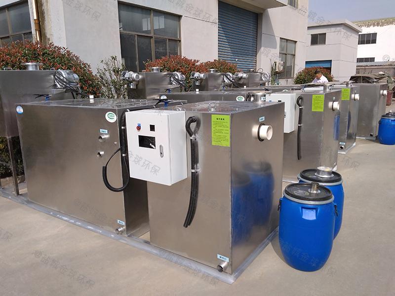 黔江一体式一体化隔油提升设备设计规范