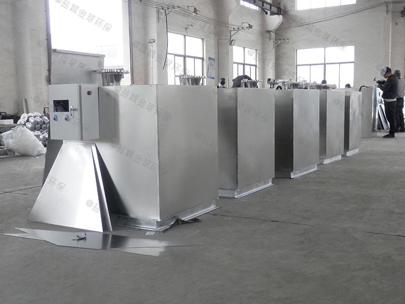 九龙坡强排隔油处理设备施工图
