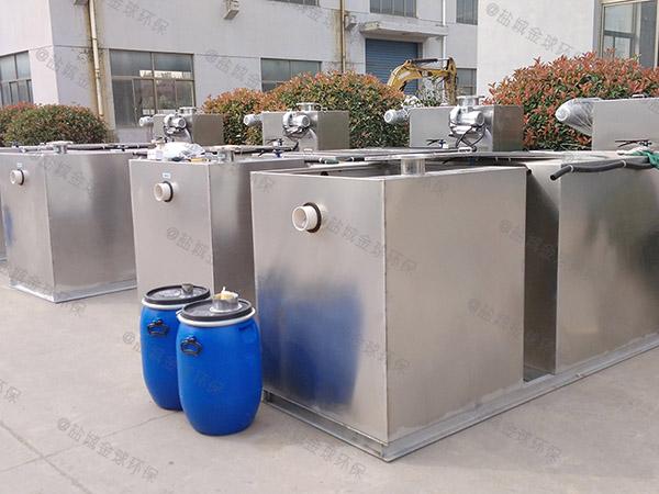 居民用地下室自动排水油水分离处理机规格价格