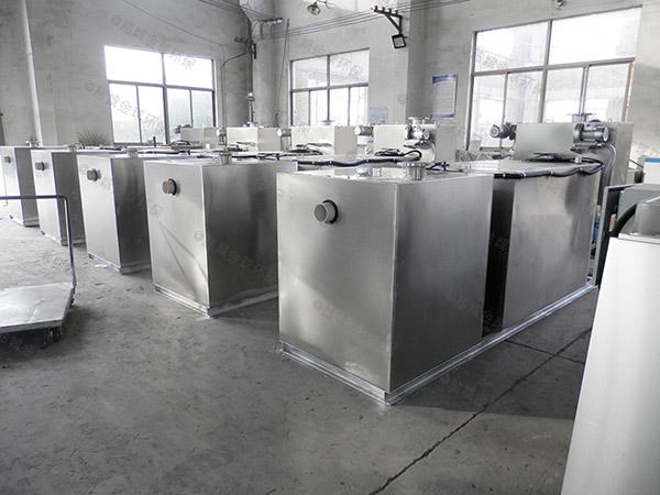 工程大型地面智能型一体式油水分离器正确安装