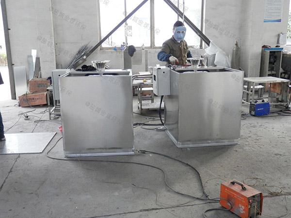 火锅大地埋式自动除渣成品隔油池放在哪里