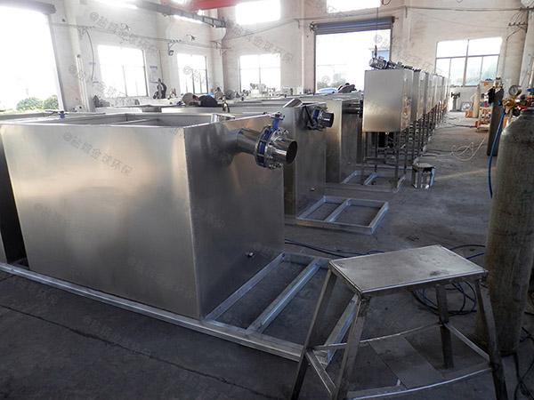 餐厅厨房大分体式一体式隔油提升设备哪里有卖