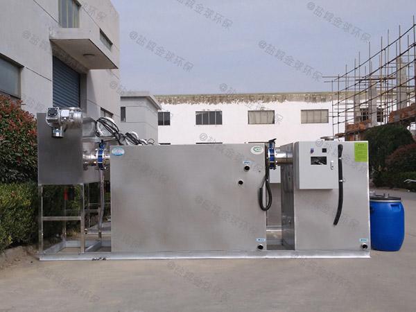 厨房中小型移动隔油池提升一体化设备有什么作用