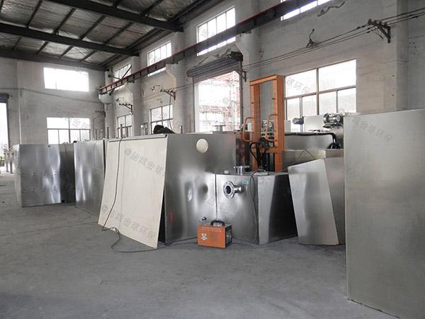 工厂食堂地埋式大型多功能除味隔油池构造