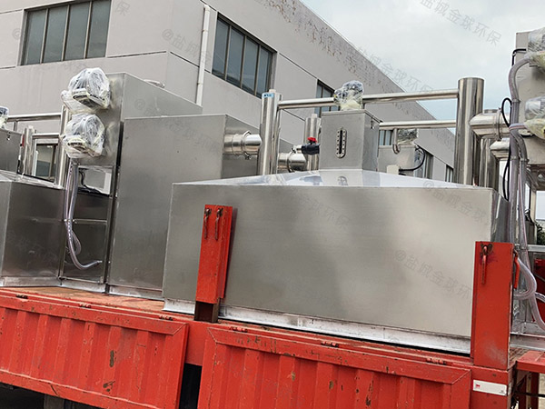 工地中小型地埋式自动刮油污水处理隔油设备功能