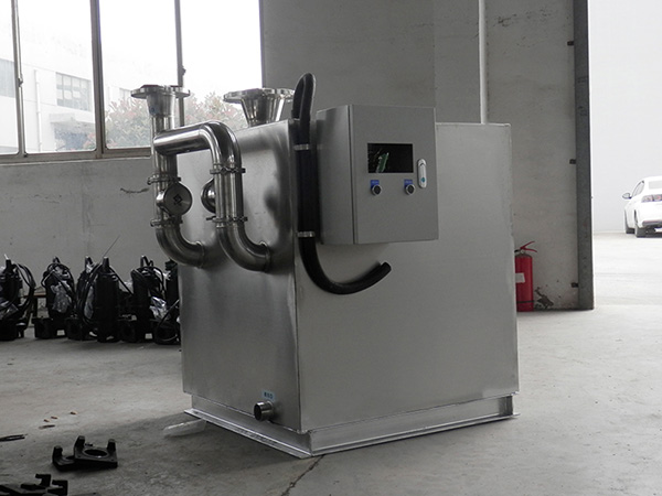 食堂用室外中小型自动化隔油隔渣设备适用行业