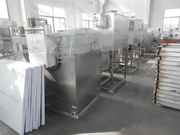 餐饮商户地埋全自动智能型不锈钢油水分离机多少钱一个