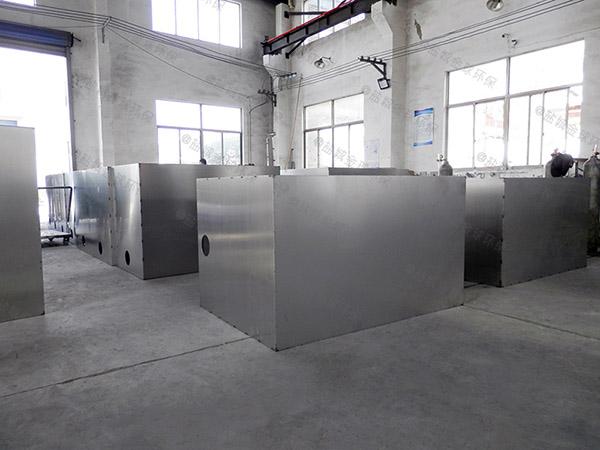 商场餐饮大型地下室机械油水过滤分离器排放标准