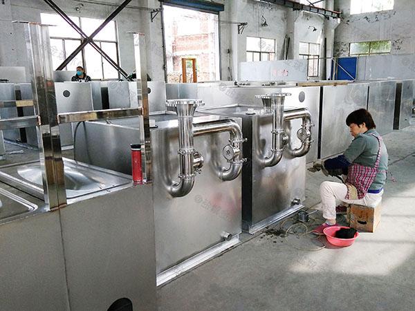 工程地面式大自动提升油脂分离装置处理能力