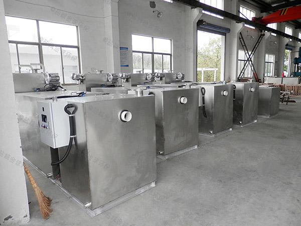 工地大型地埋组合式油水分离一体化设备的价位