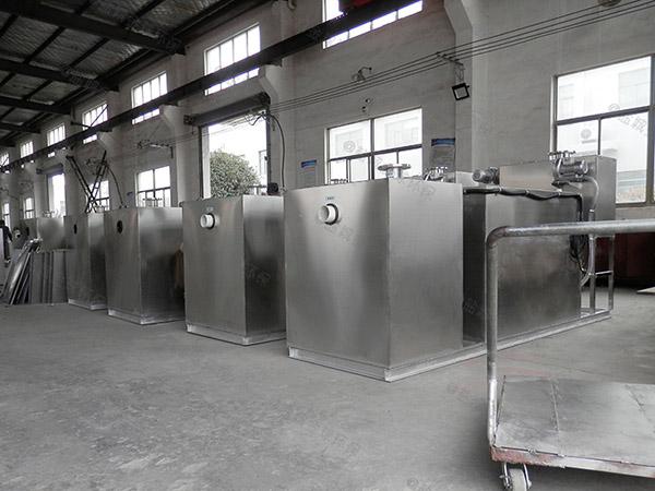 单位食堂中小型地面式简单气浮隔油器原理