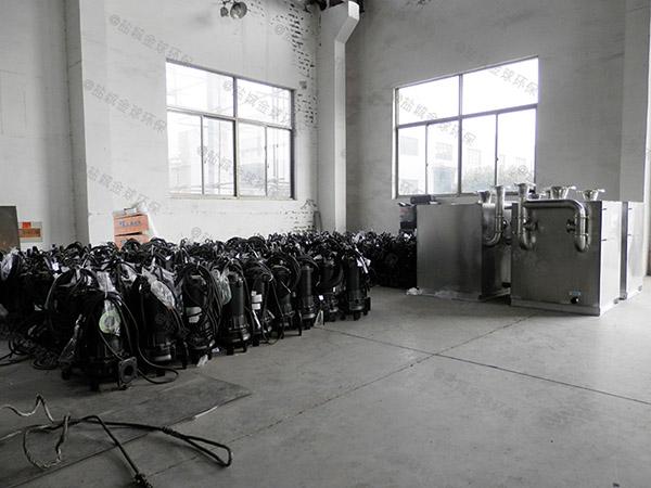 商用室内智能一体式隔油池单价