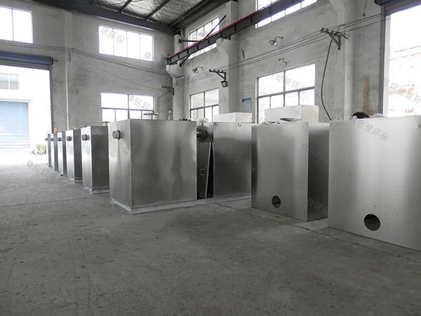 小区地面式组合式污水处理油水分离设备如何使用