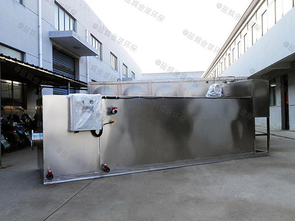 餐饮业中小型地下式无动力一体化隔油器如何选择