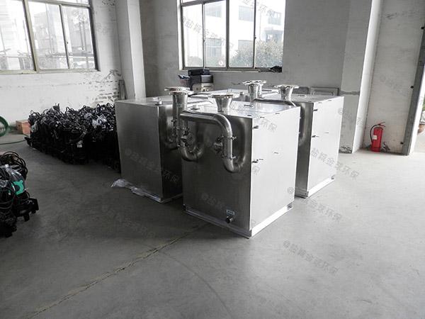 中餐地下室全能型隔油污水提升一体化设备计算