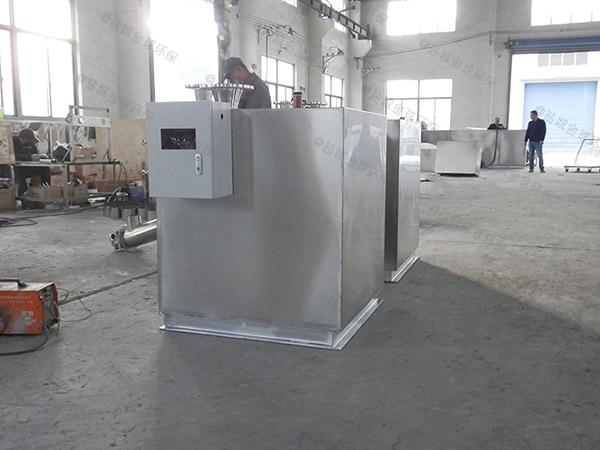 厨房用大埋地自动隔油池隔油器施工工艺