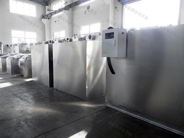 火锅店埋地式大型智能型气浮隔油器规格型号及价格