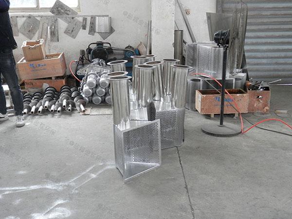 综合体地下室智能油水渣分离器工艺特点