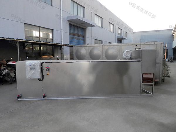 学校室内中小型自动排水隔油污水提升设备的水如何排出