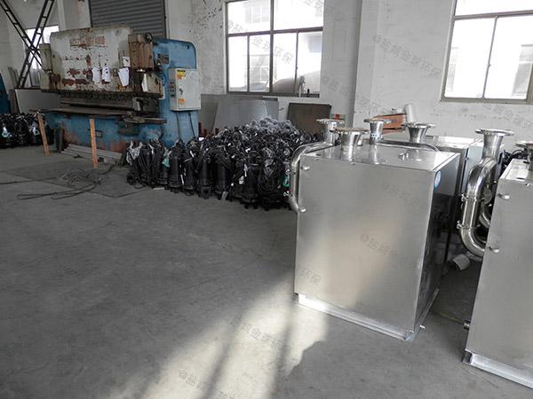 后厨中小型自动化油水分离器隔油池哪儿买