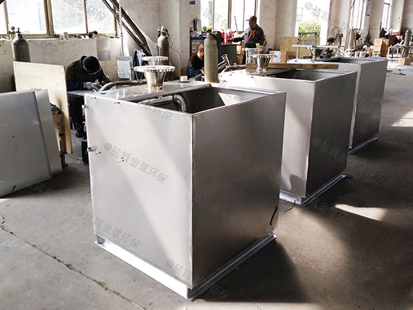 饭店埋地式大自动排水气浮油水分离器制作方法
