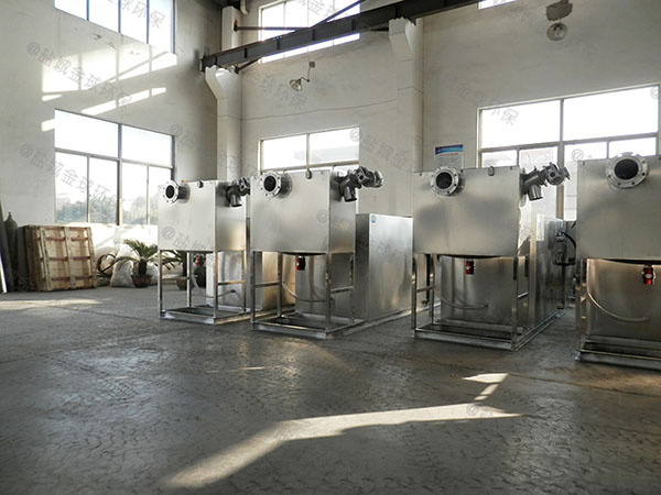 工地食堂地埋式大型全自动智能型一体化油水分离提升设备设计要求