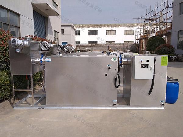 商城地埋式中小型自动除渣隔油器提升设备怎么安装