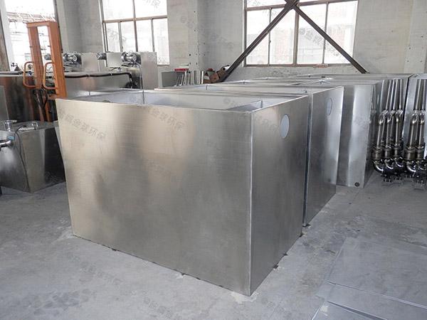 餐饮环保室外大移动式油水渣分离设备设计方案