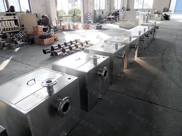 中餐自动刮油三格式隔油池施工工艺