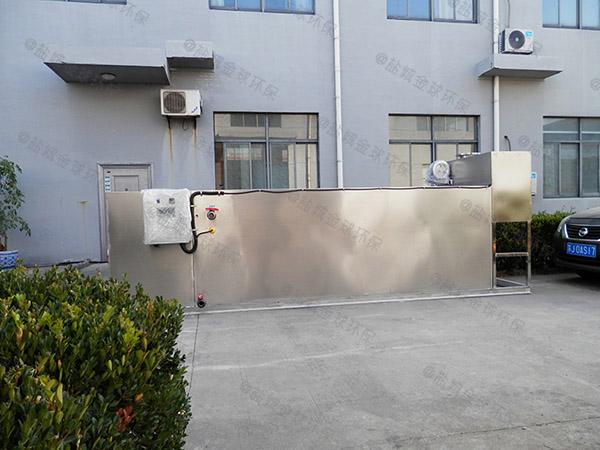 餐饮业大地下式机械水油分离装置代理