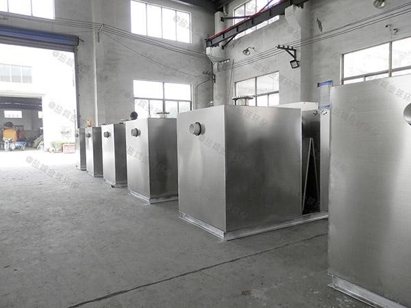 饭堂中小型地面自动提升油水分离器除臭供应厂家