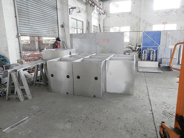 火锅店中小型地面全自动智能型一体化隔油污水提升设备代理