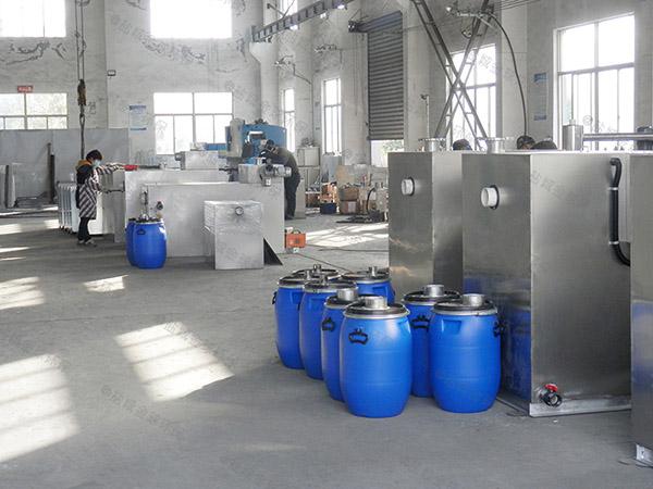 工地食堂大型室外无动力水与油分离机器工厂
