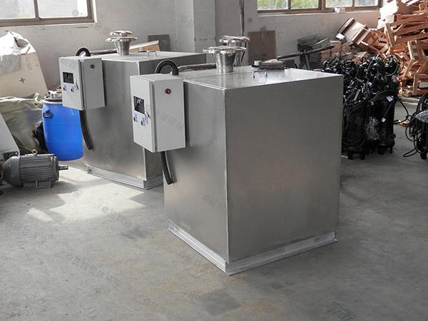 小饭店中小型室外移动式三级油水分离器的材质