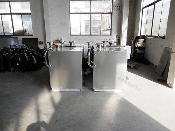 火锅专用大型室外移动油水分离一体化设备专业品牌