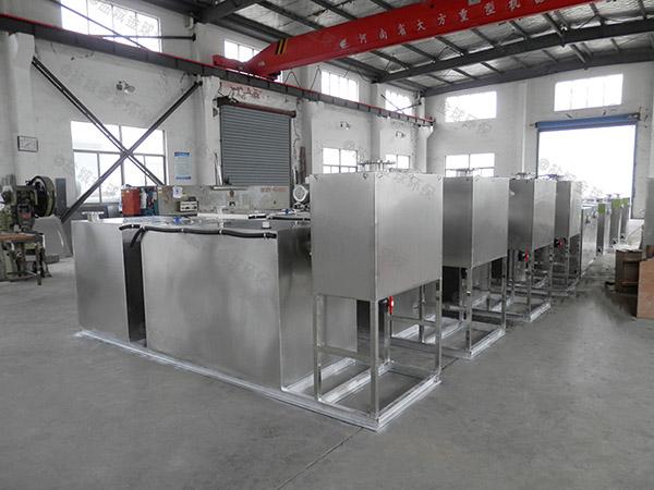 综合体地面式组合式油水分离器隔渣池除油效率