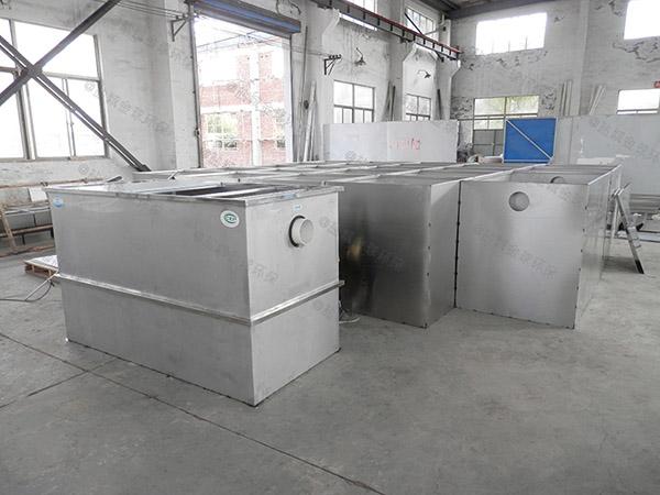 火锅专用地下室中小型自动提升油水分离与处理设备价格是多少