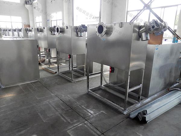 商业大地下式全能型隔油一体化提升装置最小尺寸