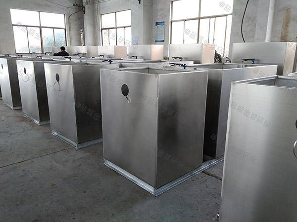 食堂户外中小型分体式隔油处理器制造商